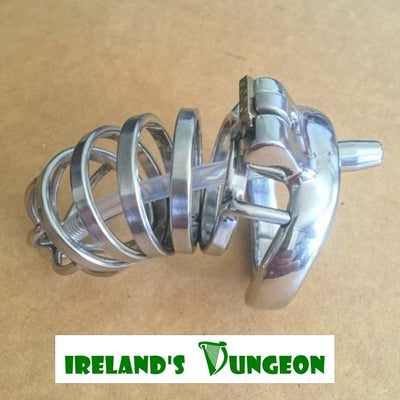 Longer Male Urethral Tube Chastity Device - Irelands Dungeon