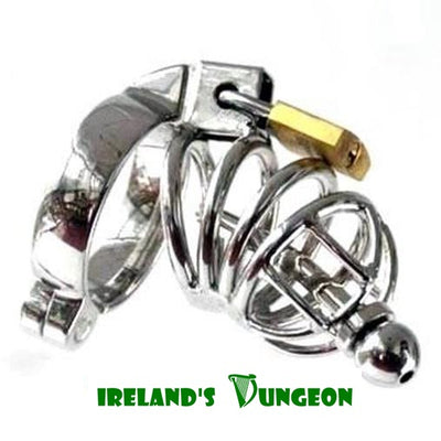 Asylum Chastity Urethral Stretching Plug - irelandsdungeon  Urethral Chastity Cage For Men-bdsm gear