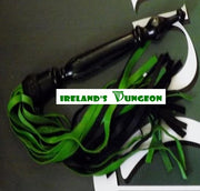 Patricks Extra Long Wooden Handled Flogger - Irelands Dungeon