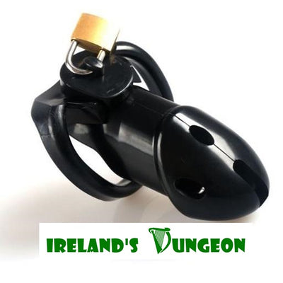 Rikers Locking BDSM Cock Cage - Irelands Dungeon