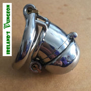 stainless steel small pepper pot cock cage