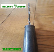 2ft Barbed Wrapped Bdsm Steel Cane - irelandsdungeon is a Sadist Series-bdsm gear