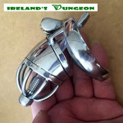 Stainless Urethral Tube Chastity Device - Irelands Dungeon