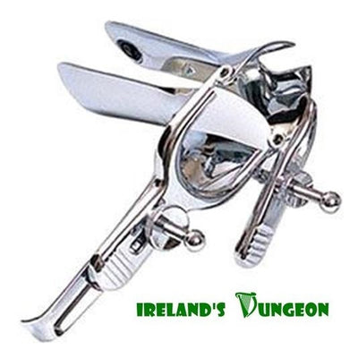 Stainless Steel Vaginal Speculum - Irelands Dungeon