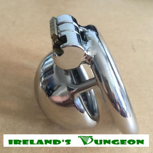 Steel Male Super Small Chastity Device - Irelands Dungeon