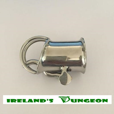 The Tube Jacket Bdsm Chastity Cage - Irelands Dungeon
