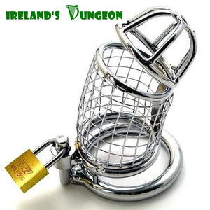 Lancelot Chastity Cock Cage Device - Irelands Dungeon
