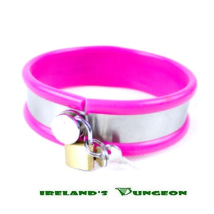 Stainless Steel Neck Collar Adjustable LARGE SIZE - Irelands Dungeon