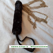 Furry Handled Chain BDSM Flogger - irelandsdungeon