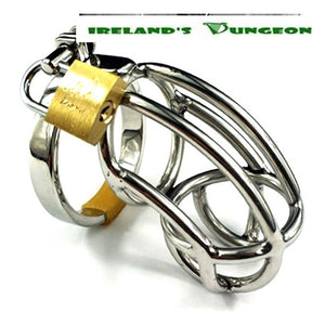 The Captus Stainless Steel Chastity Cage - Irelands Dungeon