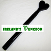 Heart on a stick Paddle - irelandsdungeon  wedobondage- irelandsdungeon  Wooden Spanking Paddles-bdsm gear