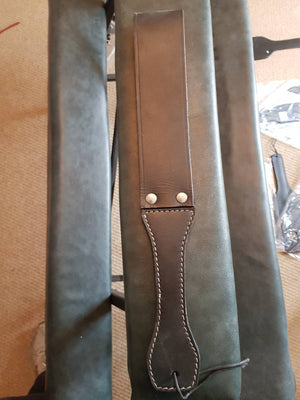 Faux Leather Loop Paddle - irelandsdungeon  wedobondage- irelandsdungeon  Leather Rubber & Metal Impact-bdsm gear