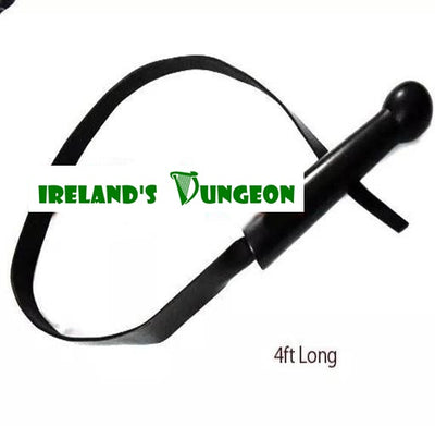 Irelandsdungeon Leather 4ft Whip Bdsm Strap - irelandsdungeon  wedobondage- irelandsdungeon  BDSM Whips-bdsm gear