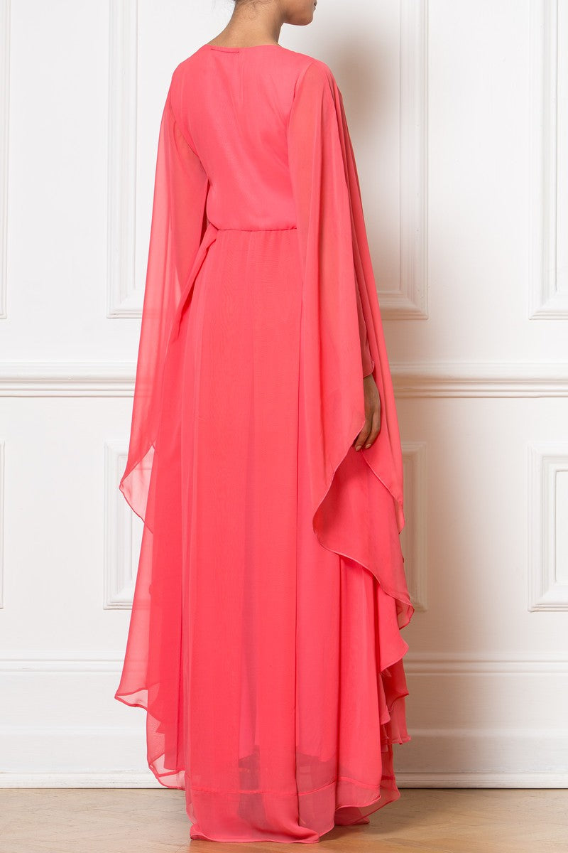 Maxi Coral Gown