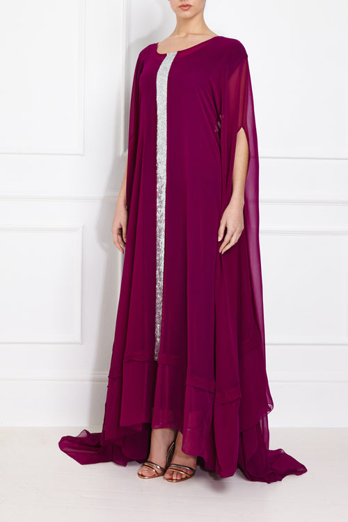 Burgundy Royal Kaftan