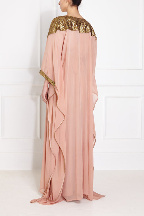 Golden Peach Kaftan