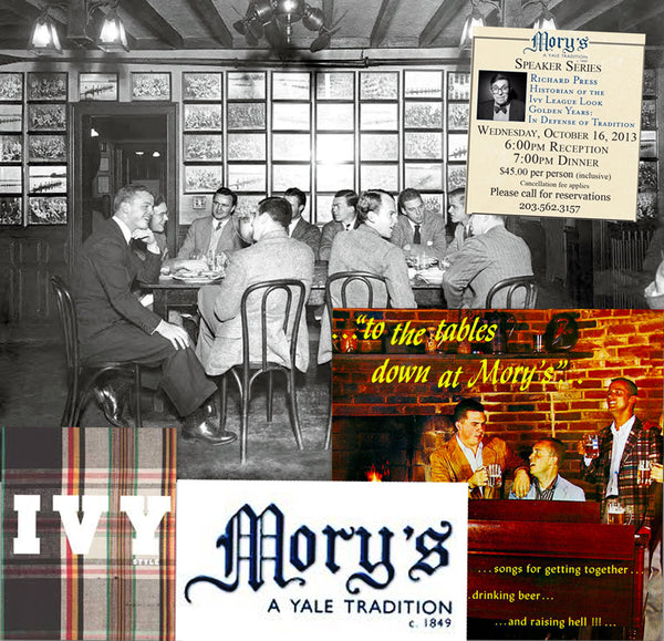 To The Tables Down At Mory's