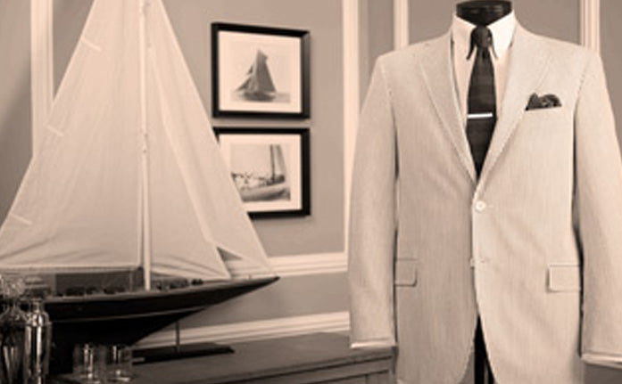 A New England American Style suit
