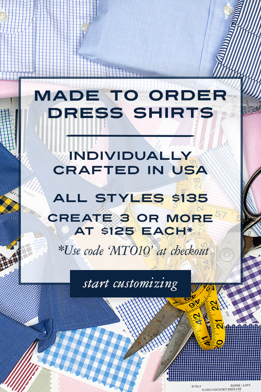 Made to Order Dress Shirts
