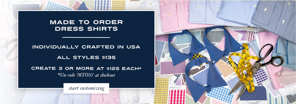 Made to Order Men's Dress Shirts
