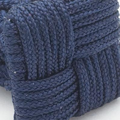 SILK KNOTS SQUARE - NAVY
