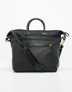 CANVAS TOTE - BLACK