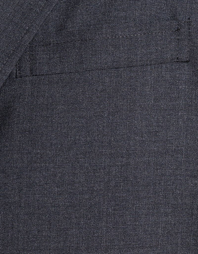 CHARCOAL SOLID SUIT - TRIM FIT