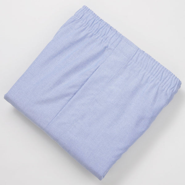 BLUE OXFORD BOXERS