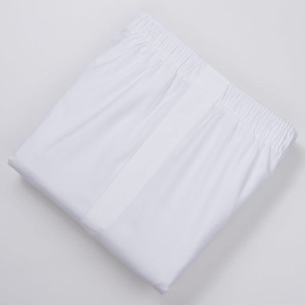 WHITE OXFORD BOXERS