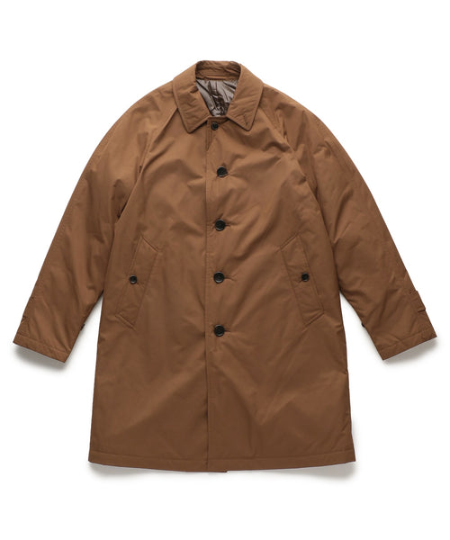 THIN DOWN BALMACAAN COAT - BROWN