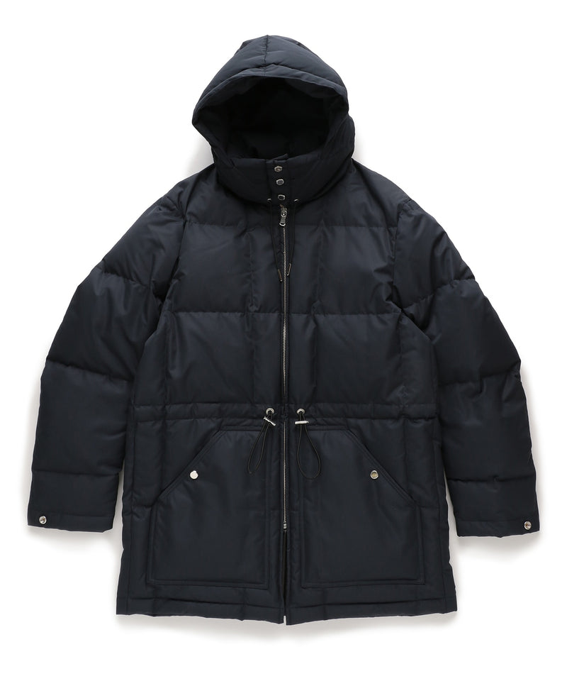THIN DOWN QUILTED JACKET - NAVY