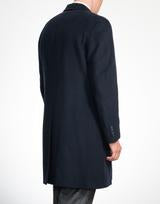 Fly Front Coat Navy