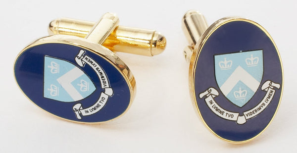 COLUMBIA UNIVERSITY CUFFLINKS - GOLD