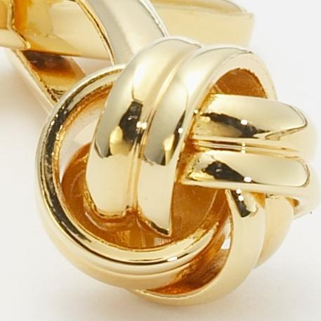 KNOT CUFFLINKS - GOLD