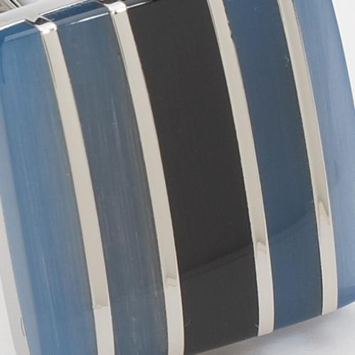 Stone Striped Blue Black
