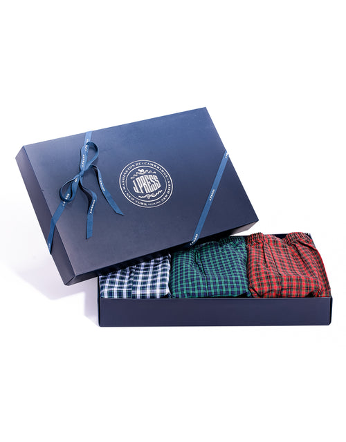 3 TARTAN BOXERS GIFT SET-WEB EXCLUSIVE