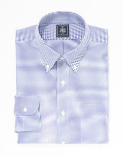 NON IRON NAVY CHECK PINPOINT
