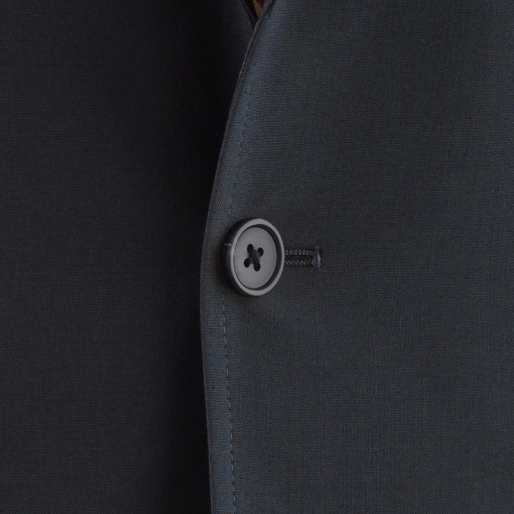 J.PRESS BLUE SUIT - AUSTRALIAN WORSTED WOOL - NAVY - IMPORTED