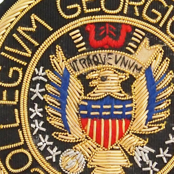 Georgetown University Embroidered Badge