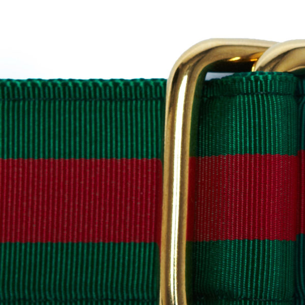 GREEN/RED RIBBON BELT