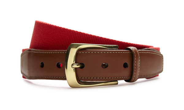 RED SURCINGLE BELT