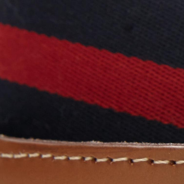 NAVY/RED SURCINGLE BELT
