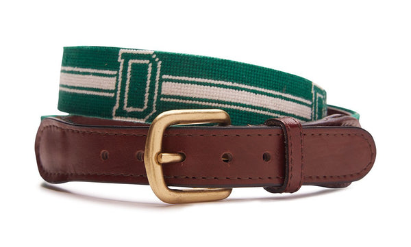DARTMOUTH COLLEGE NEEDLEPOINT BELT