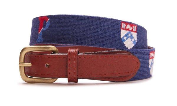Men's Needepoint Belt