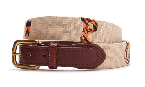 NEEDLEPOINT BELT - PRINCETON UNIVERSITY