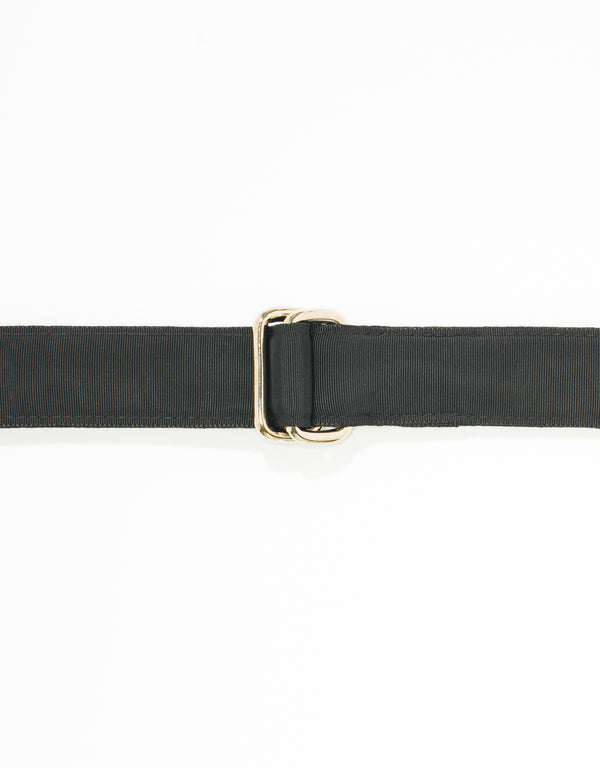 RIBBON BELT - BLACK