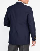 Men's Navy Tropical Wool Blazer