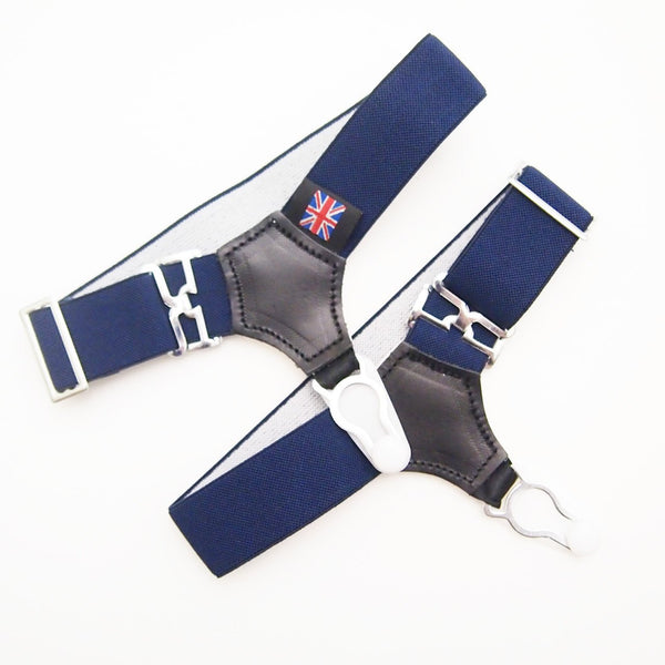 Sock Garter in Navy