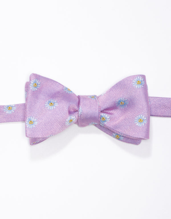 EMBLEMATIC DAISY BOW - PINK