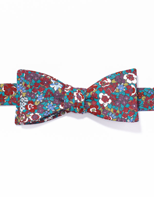 J. PRESS LIBERTY PRINT BOWTIE - DARK MULTI